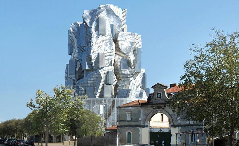 Arles - Tour Gehry, fondation LUMA