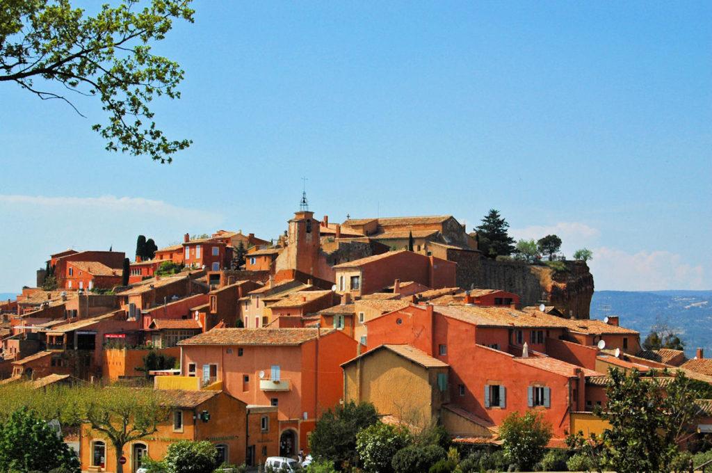 Roussillon - village